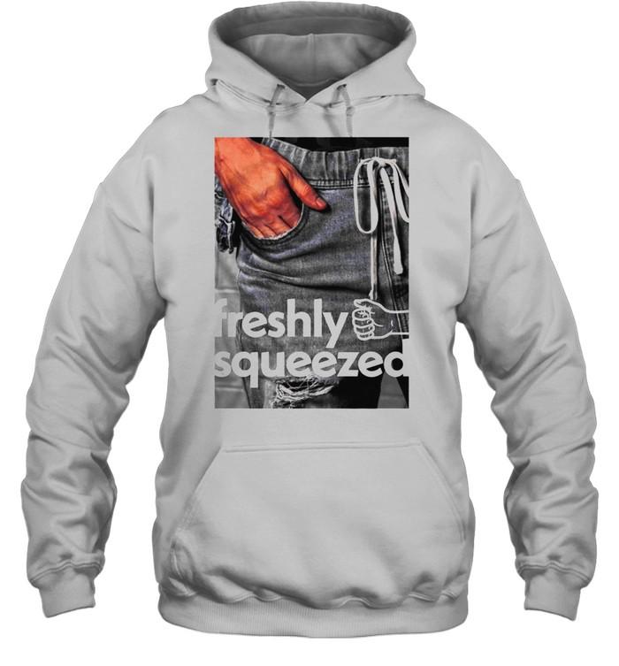 Orange Cassidy Freshly Squeezed Pocket shirt Unisex Hoodie