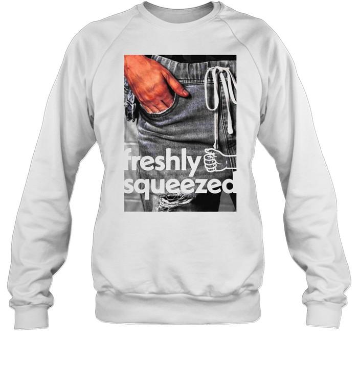 Orange Cassidy Freshly Squeezed Pocket shirt Unisex Sweatshirt