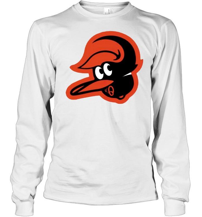 Orioles upside down shirt Long Sleeved T-shirt