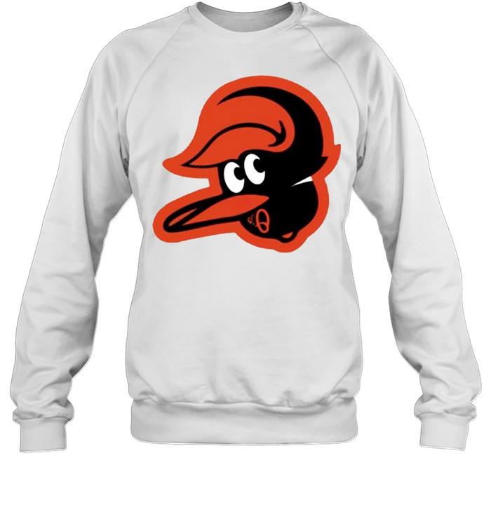 Orioles upside down shirt Unisex Sweatshirt