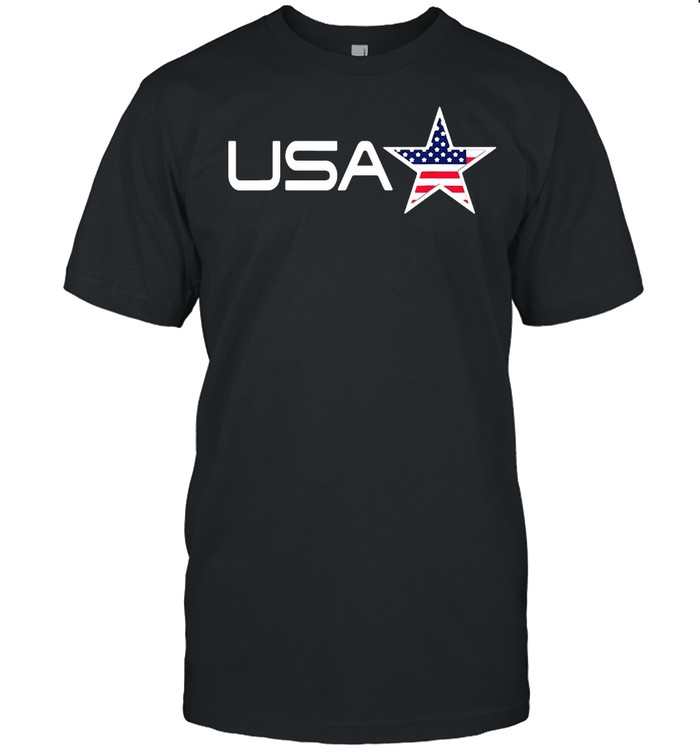 USA Flag With Stars And Stripes T-shirt Classic Men's T-shirt