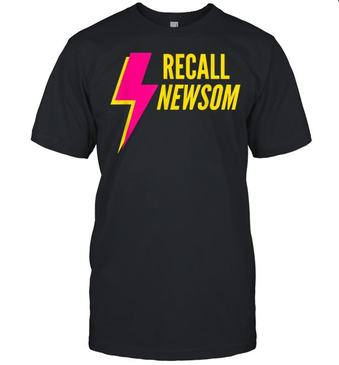 Recall Gavin Newsom shirt Classic Men's T-shirt