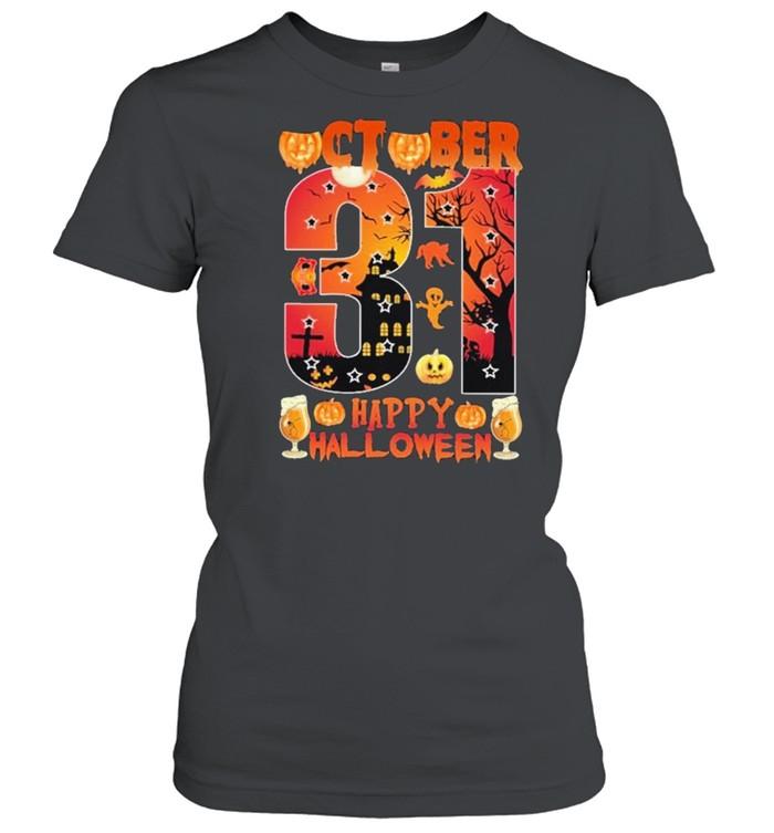 October 31 Happy Halloween Classic Women's T-shirt