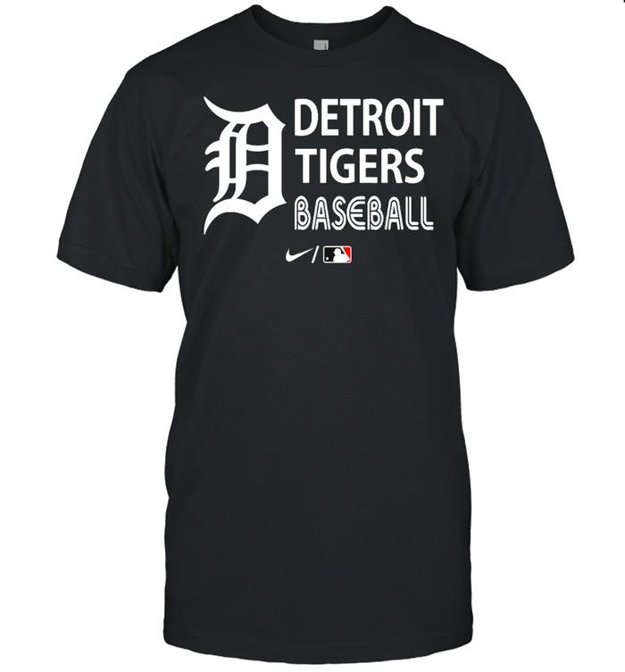 Detroit Tigers Baseball T-shirt Classic Men's T-shirt
