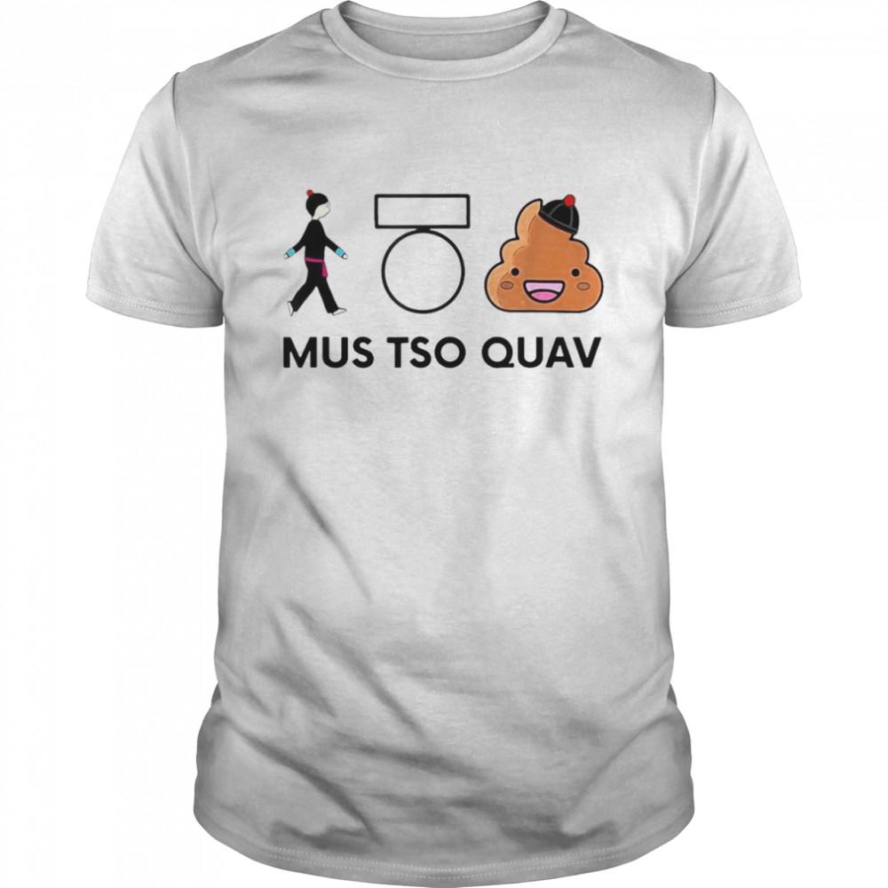 Mus Tso Quav Hmong Creations Poop T-shirt Classic Men's T-shirt