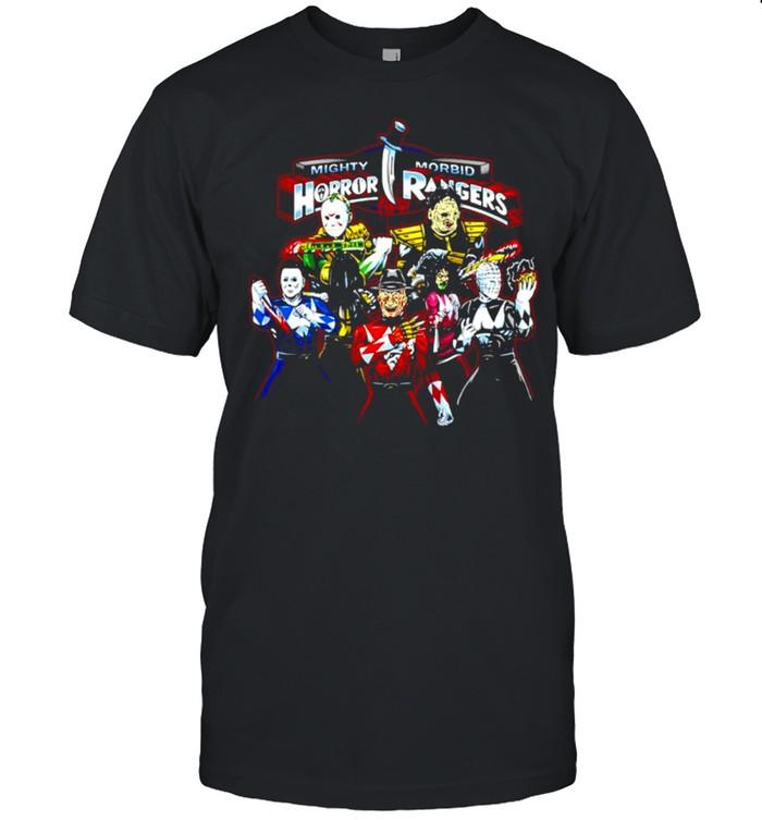 Mighty Morbid Horror Rangers Horror movie characters shirt