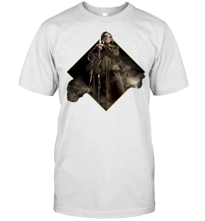 Harry Potter Alastor Mad Eye Moody Character Portrait T-shirt