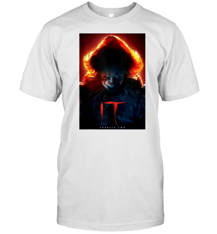 It Chapter Two Pennywise Glow Poster T-shirt