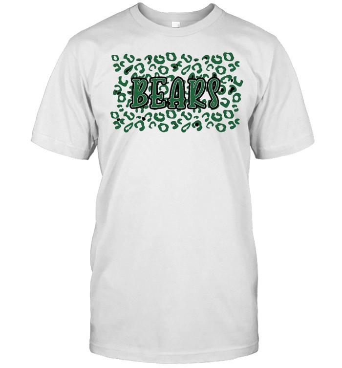 leopard School Spirit Mascot Bears shirt