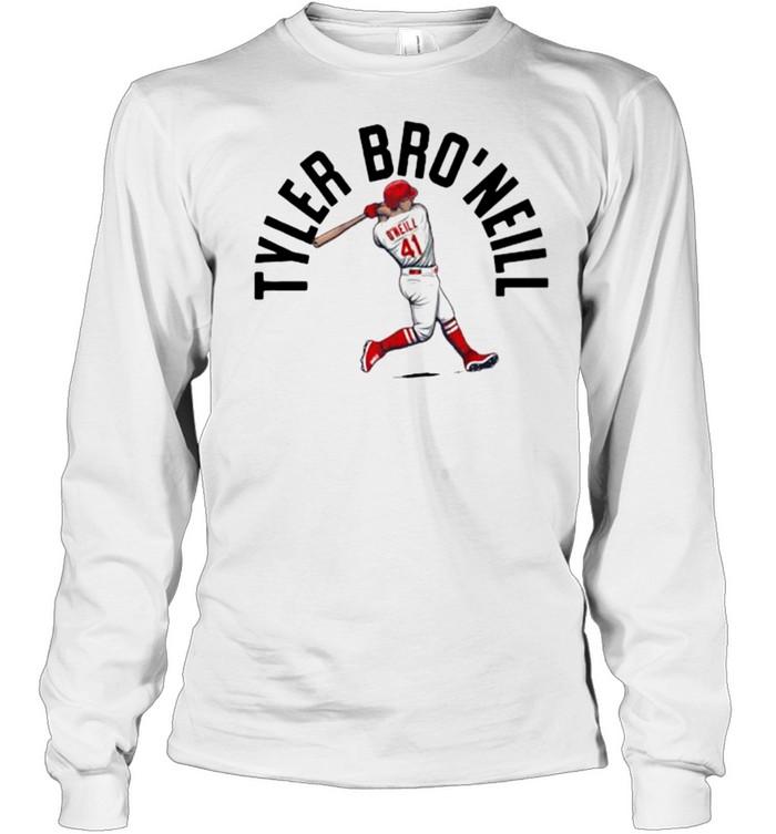 St. Louis Cardinals Tyler BRO'Neill  Long Sleeved T-shirt