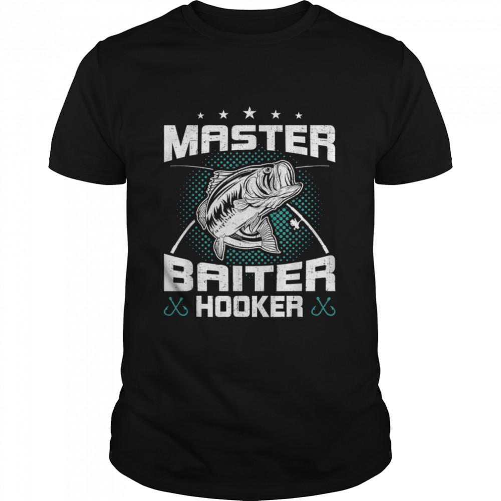 Master Baiter Hooker Fly Fishing Shirt