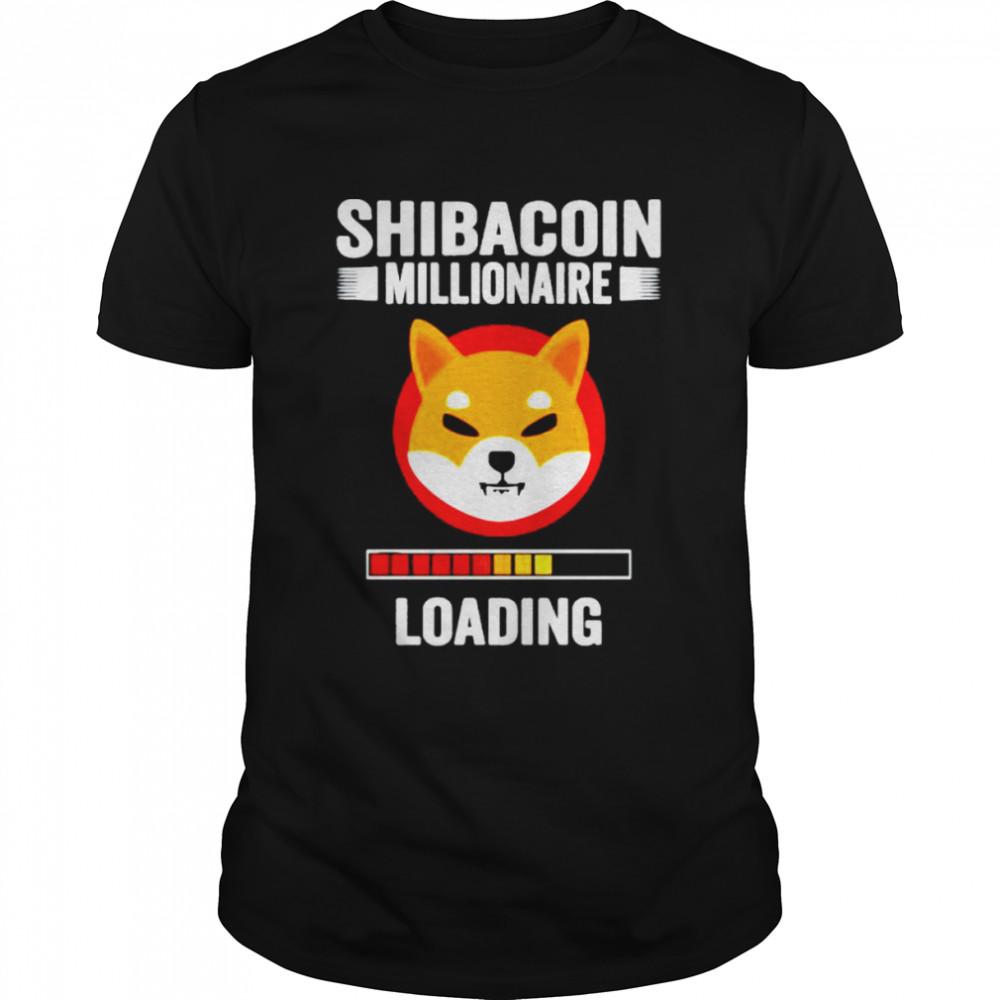 Shibacoin millionaire loading shirt