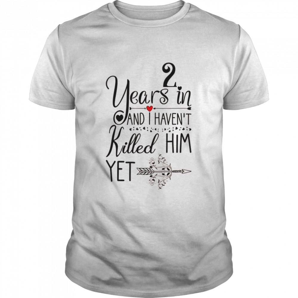 Geschenk zum 2. Hochzeitstag für die 2. Hochzeitstag Shirt