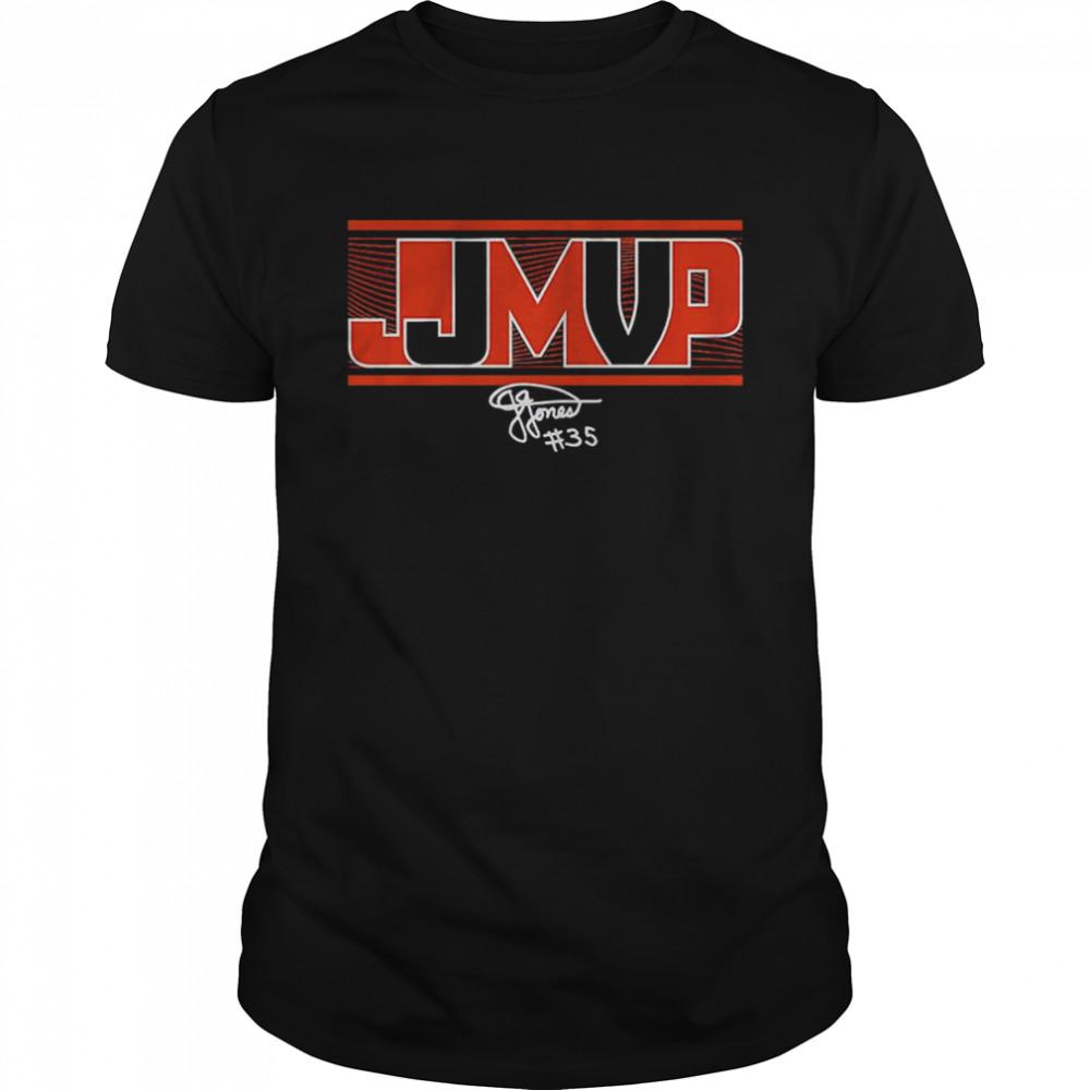 Jonquel Jones MVP Connecticut shirt