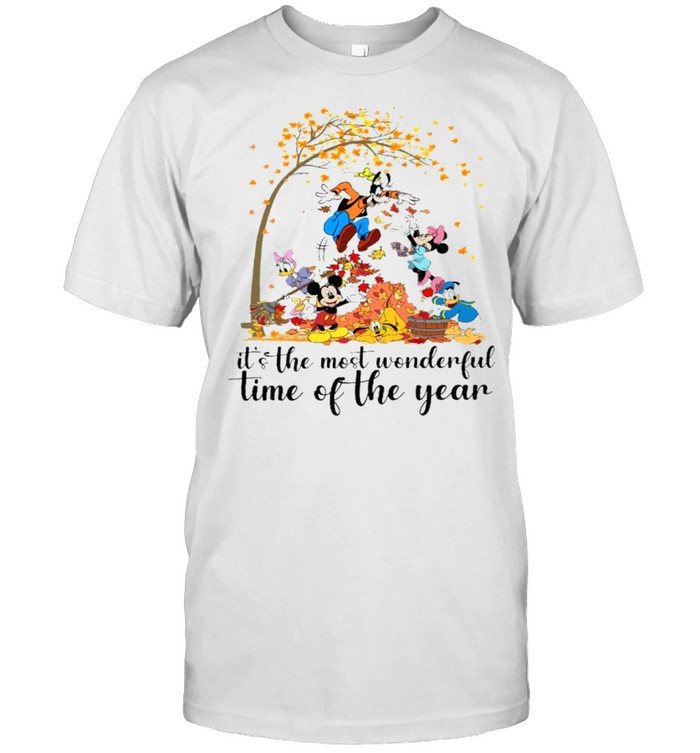 It's the most wonderful time of the year mickeys shirt