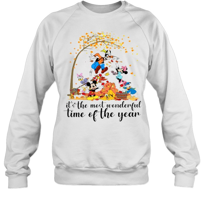 It's the most wonderful time of the year mickeys shirt Unisex Sweatshirt