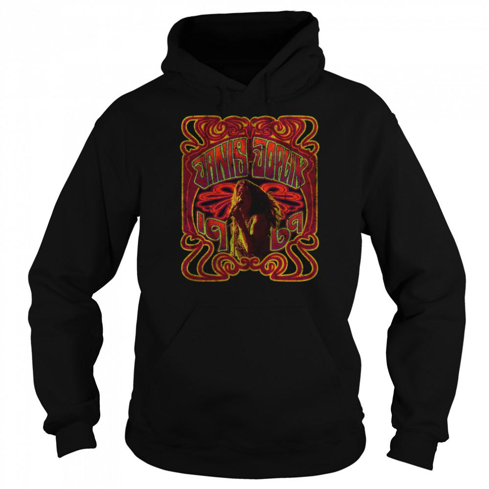 1969 Janis Joplin T- Unisex Hoodie