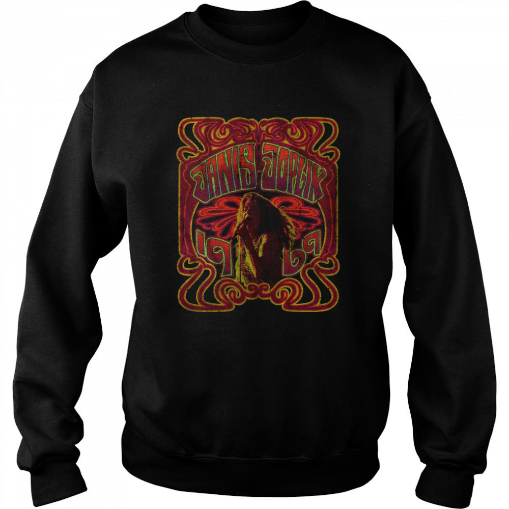 1969 Janis Joplin T- Unisex Sweatshirt