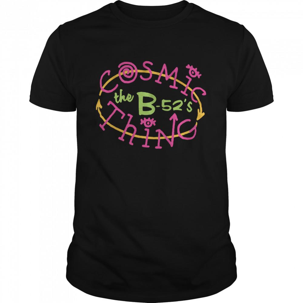 B52s Cosmic Thing shirt