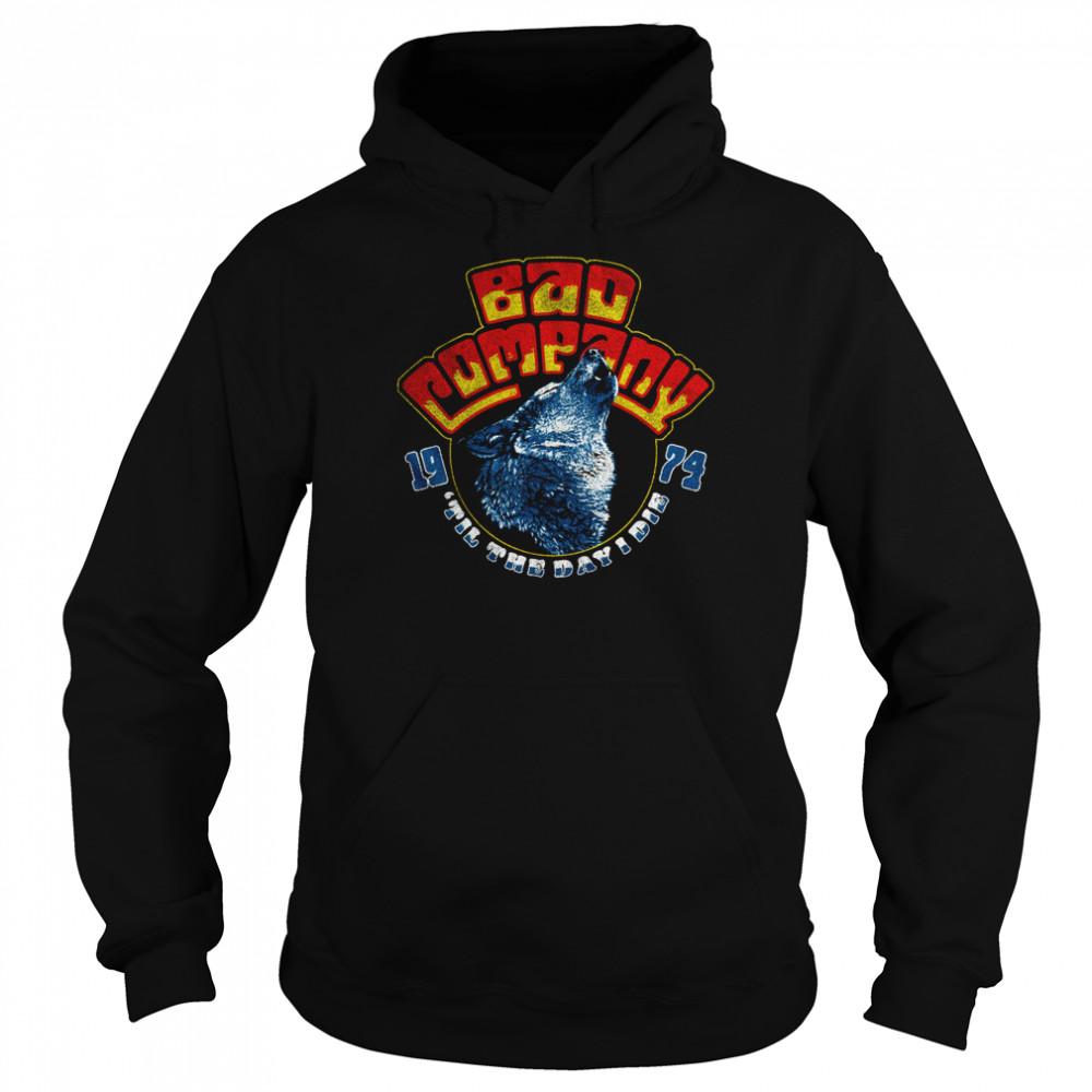 Bad Company Wolf Head 74 shirt Unisex Hoodie