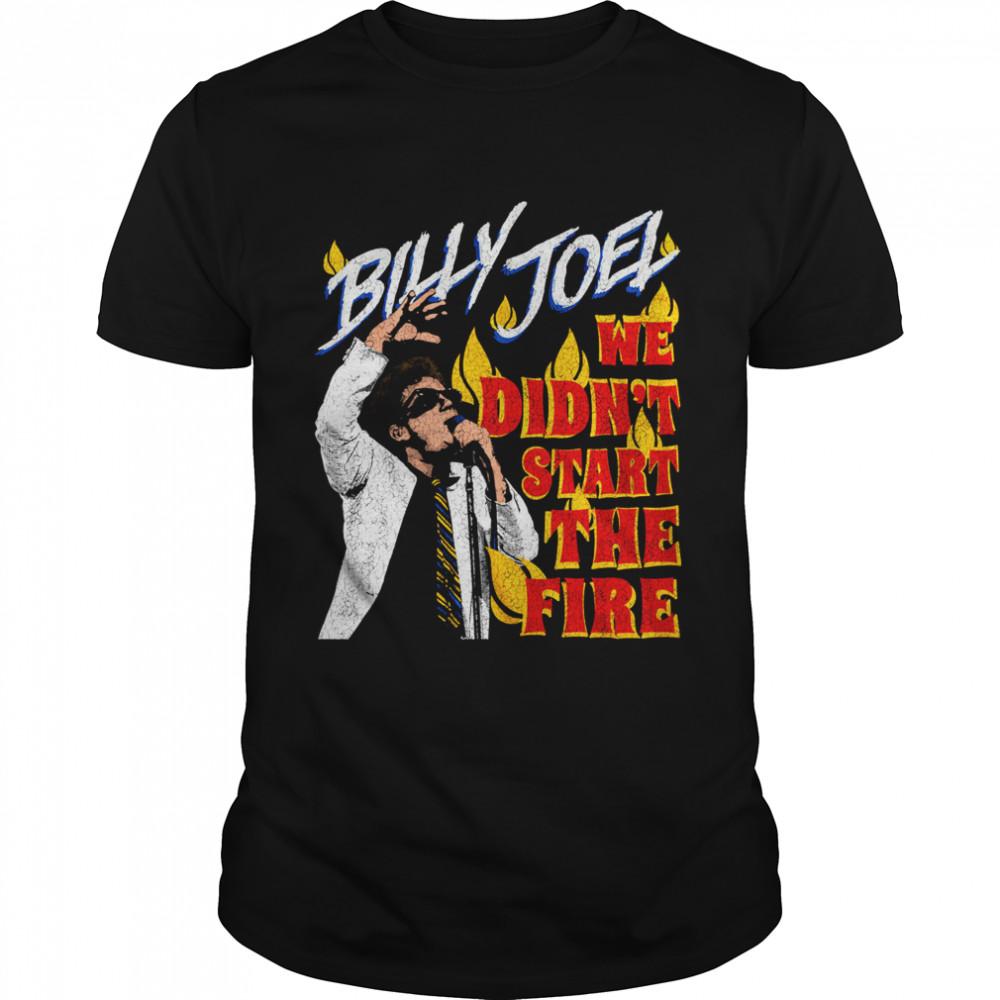 Billy Joel We Didn't Start the Fire shirt