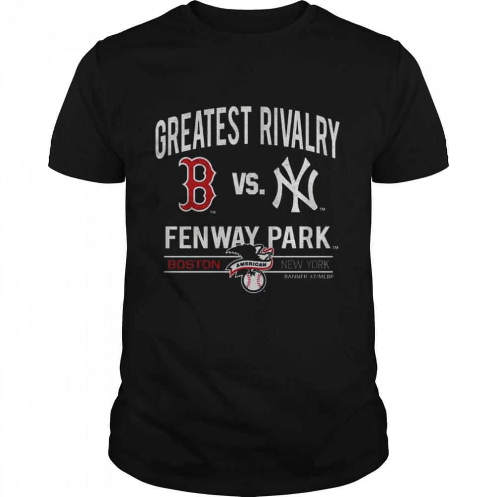 2021 Boston Red Sox vs New York Greatest Rivalry Fenway Park shirt