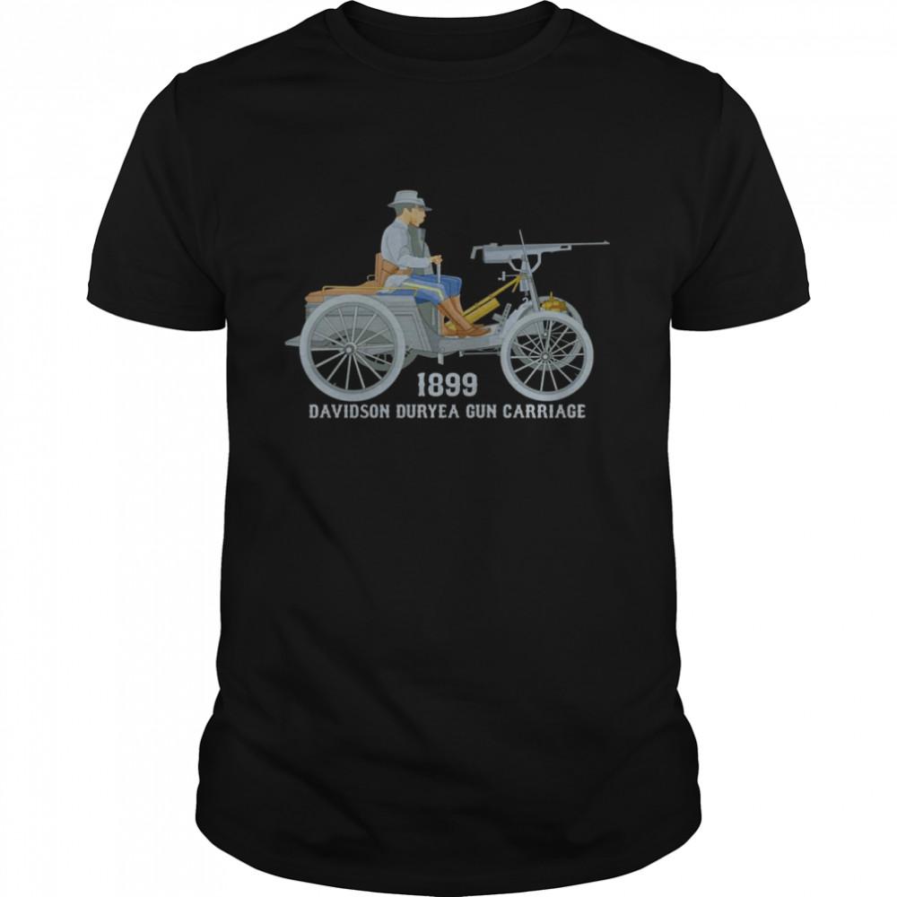 Davidson Duryea Geschützwagen Amerikanisches gepanzertes Langarmshirt Shirt