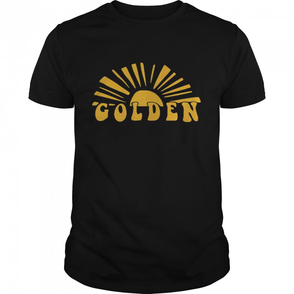 golden shirt